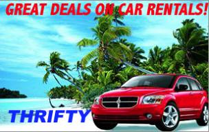 Visit the Thrifty website for rental car deals